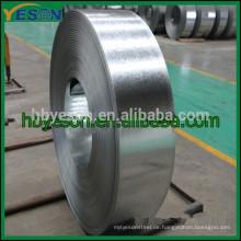 Verzinktes Stahlband, Stahlband