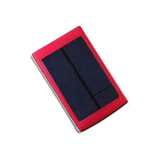 Chargeur portable solaire mini taille