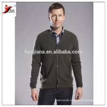2014 fashion men Cashmere knitting cardigan OEM