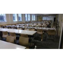 Mesa de jantar e cadeira de refeitório de alta escola do Canadá (FOH-ASS01)