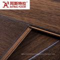 Two-Strip Dark Walnut Laminate Flooring