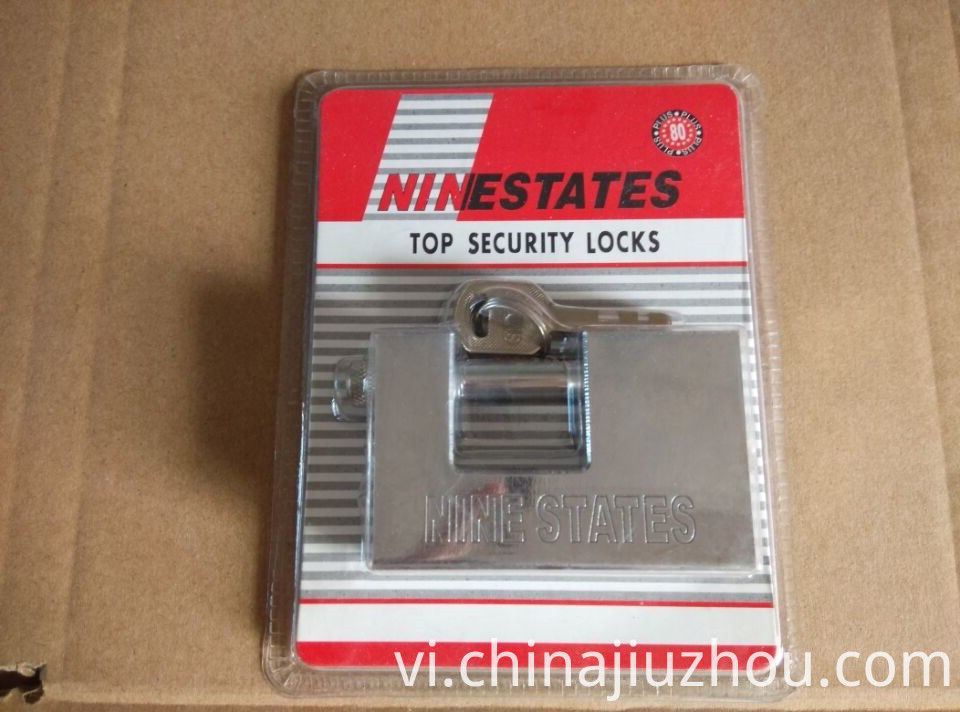 80MM Rectangle Iron Padlock