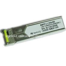 Transceptor de fibra ótica bidirecional Bsfp-L1.25g-ED totalmente compatível