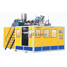Lubricant oil bottle blow molding machine