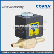 Válvula de solenóide de ação direta 2way pequenos eletrodomésticos válvula normal próximo água selo de óleo de ar válvula solenóide VITON
