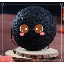 Esponja branqueadora de carvão de bambu para konjac