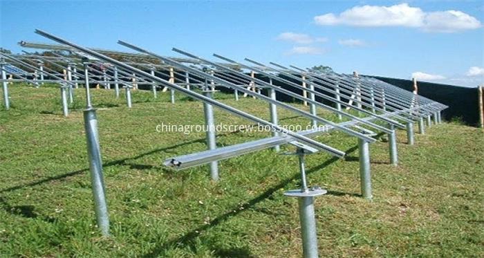 solar ground screw