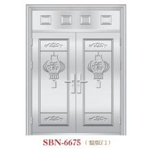 Puerta de acero inoxidable para sol exterior (SBN-6675)