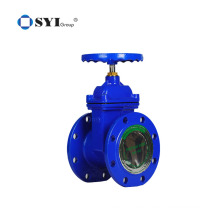 DN100 Water Rubber Soft Seal Ductile Iron Flanged Ends Gate Valve