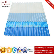 28 Bridge Height Anti - Corrosive Corrugated UPVC Roofing Sheets Multilayer
