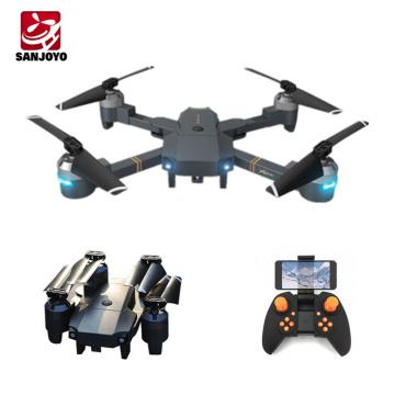 720p Wifi caméra grand angle drone optique débit position capteur de gravité drone avec mode de jeu VR pliable SJY-XT-1 VS Eachine E58