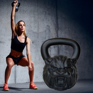 Funny Animal Face Kettlebell