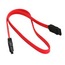 Мужской Женский плоский Жесткий диск SATA кабель для передачи данных