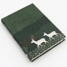 Fancy Style Customized Cmyk impresso Hardcover Notebook Printing