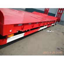 Низкий кровати трейлер Semi для машинного транспорта