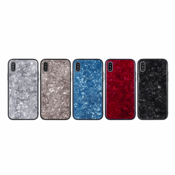 Tempered Glass Anti-Scratch Back Cover For iPhone X