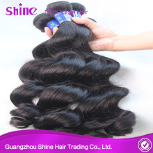 Raw Peruvian Human Virgin Loose Wave Hair Weave