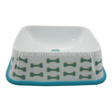 ceramic dog bowl with stand