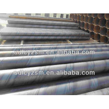 Q345 grade B Round Helical Welded Steel Pipe from China Mills