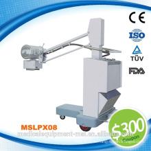 Hochfrequenz-mobile Röntgengeräte Röntgen / Fotografie Diagnostikgeräte Hersteller / Veterinär-Röntgengeräte (MSLPX08-N)