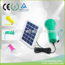 High Power Solar LED Flexible Torch Light Rechargeable Night LED Light for India