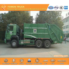 SINOTRUK HOWO 6x4 16m3  rear-loaded compactor truck