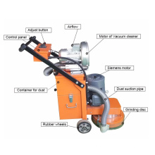 Máquina de polimento para moagem de piso de concreto