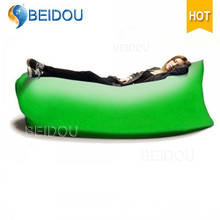 Wholesale Printed Laybag Fast Inflatable Air Sofa Sleeping Bag