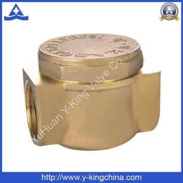 Vanne de retenue forgé en laiton avec laiton (YD-3010)