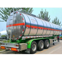 3 Axles 40000L Fuel Tank Semi-trailer With 3 Compartments