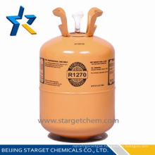 chemical produt refrigerant gas R1270 with best quality and price