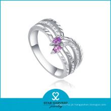 Encanto do festival 925 anel de prata esterlina para as mulheres (R-0083)