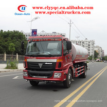 FOTON Auman EURO3 10000L agua pulverizadora cisterna para la venta
