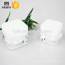 hot sale 15g 30g 50g cream square acrylic jar