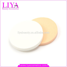 makeup cosmetic powder puff, round powder puff hot sale