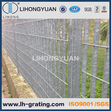 Galvanized Steel Grating Fences, Steel Grating Fencing