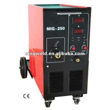 Inverter Igbt MIG200 y MIG250 Máquina de soldar