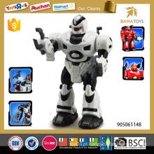 Brinquedos robô operados a bateria com luz