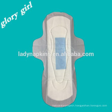 Disposable feminine ultra thin dry woven anion sanitary pads