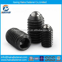 Alloy steel spring ball socket set screw