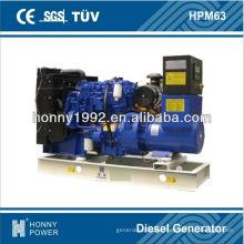 56KVA generación de energía de Lovol 60Hz, HPM63, 1800RPM