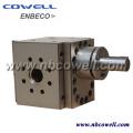 Pompe de fusion à engrenage pour ligne d'extrusion continue