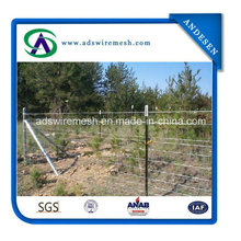 2.5mm Cattle Metal Farm Fence / Deer Farm Fencing