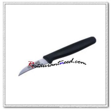 U381 2.5 '' Peeling Cuchillo con mango de plástico
