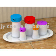 kitchen set with silicone cover