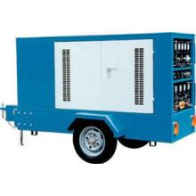 30kva 500A silencioso portátil Diesel gerador de solda