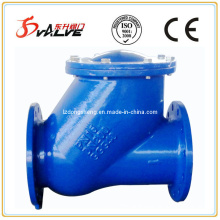 Flanged Ball Check Valves, Pn16, D. I. Body, Ball Covering: NBR