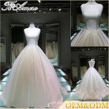 Гуанчжоу романтический милая шеи свадебные платья для зрелых женщин