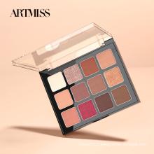 Palette de maquillage ARTMISS Palette de fards à paupières végétaliens à haute pigmentation