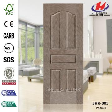 Five Panels Popular Natural Paddock Door Skin